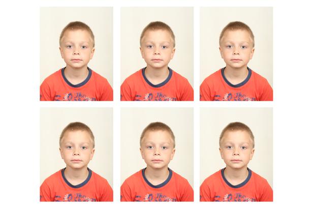 Раскладка фото с помощью экшенов