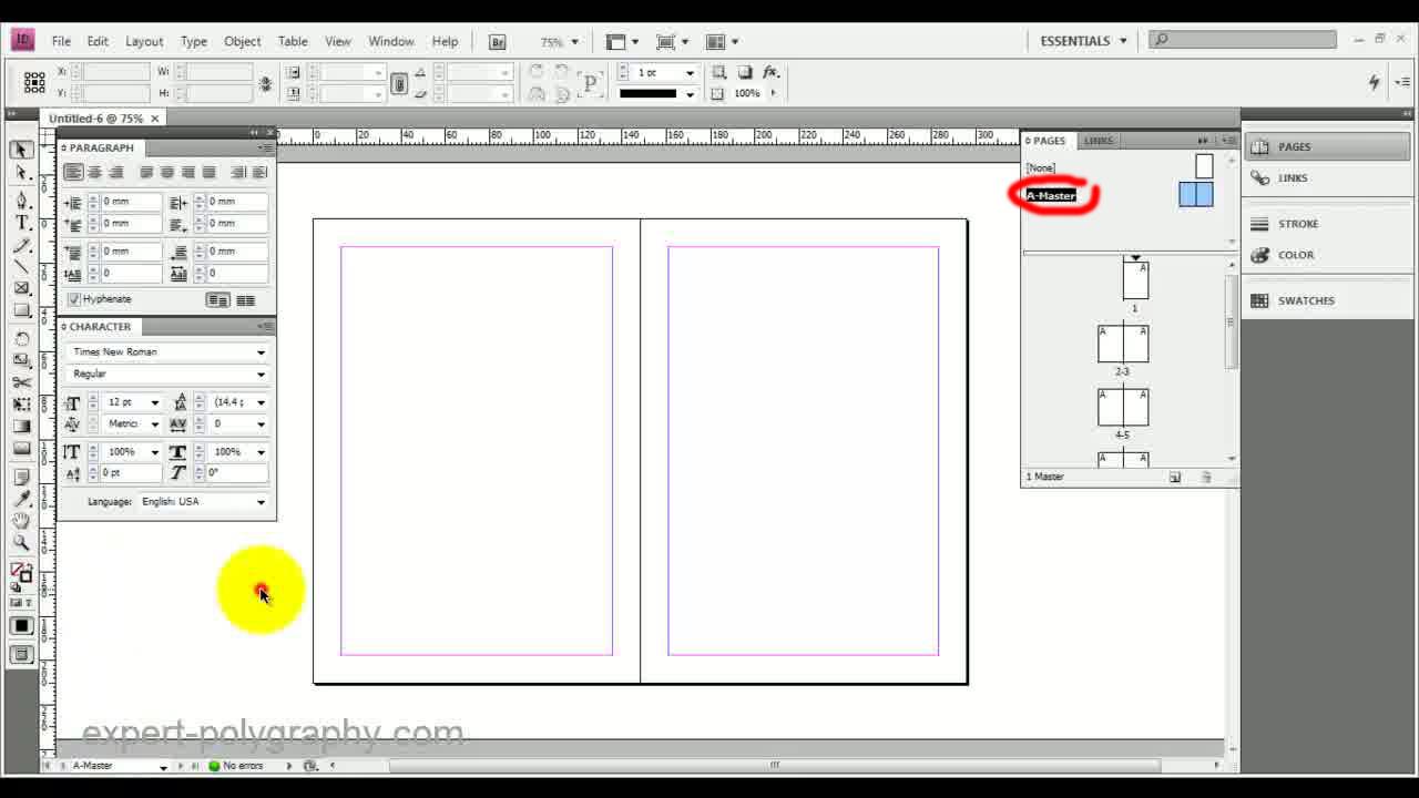 Как в иллюстраторе сделать 2 страницы
