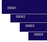 Автоматическая нумерация карточек в Indesign