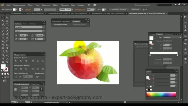 исправить дефекты и доработать изображение до конечного результата