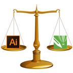 Что лучше CorelDRAW X7 или Adobe Illustrator CC? Сравнение.