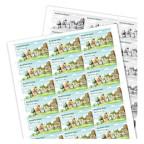 Раскладка визиток на печать из PDF