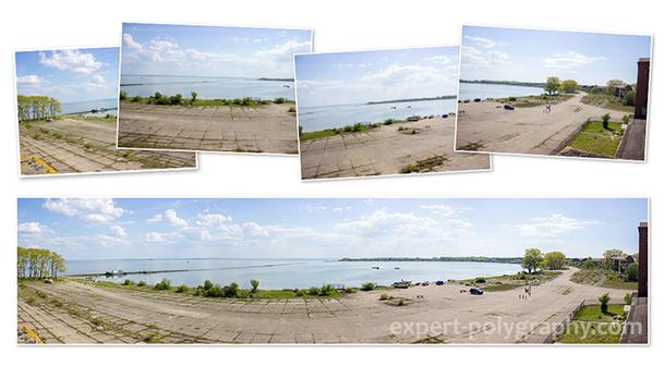 Создание панорамного снимка в Photoshop
