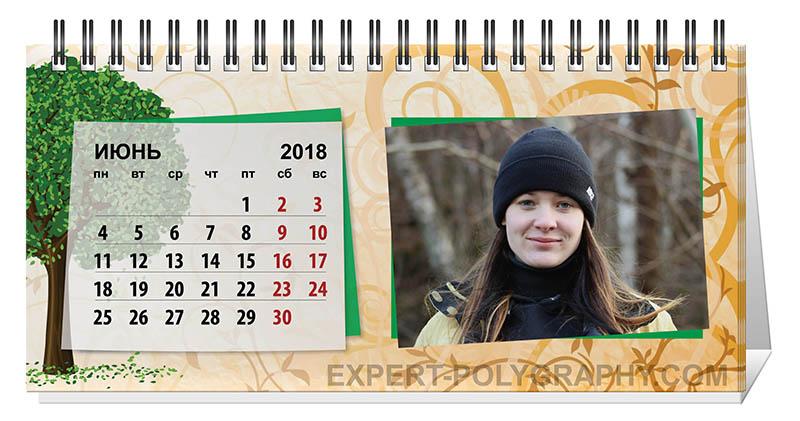 Как сделать календарь перекидной с фотографиями на 2018 год своими руками 25