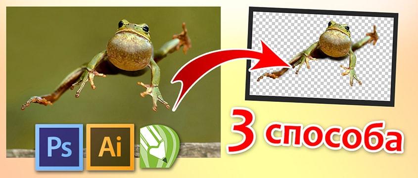 Прозрачный фон изображения 3 интересных способа